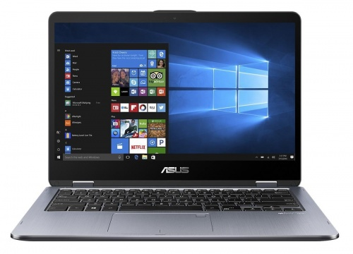 Ноутбук Asus TP401CA-EC083T (90NB0H21-M02860) m3-7Y30 (1.0) / 4Gb / 128Gb SSD / 14 FHD Touch / HD Graphics 615 / Win10 Home / Light grey livolo glass intelligent touch switch panel single control home light