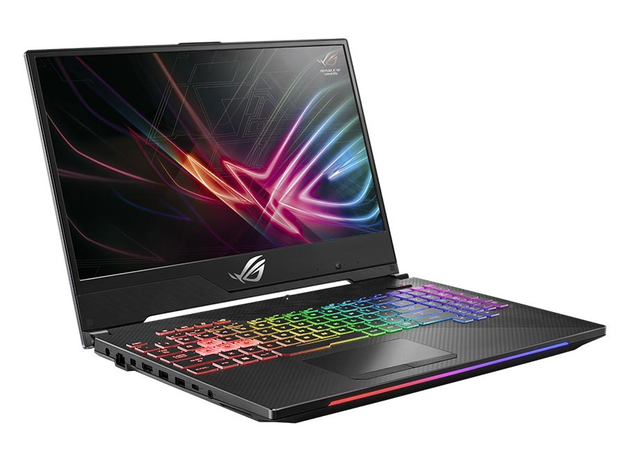 Ноутбук Asus ROG HERO II GL504GM-BN328 i5-8300H (2.3) / 8GB / 1TB + 256GB SSD / 15.6 FHD AG IPS / NV GTX1060 6GB / noODD / noOS (Black) original 7 inch lcd screen display for asus google nexus 7 fhd 2013 2 ii 2nd gen replacement repair part free shipping