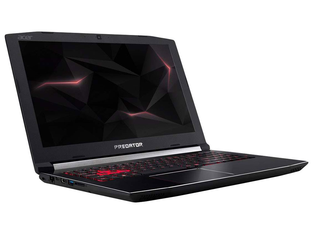 Ноутбук Acer Predator Helios 300 PH315-51-50FH (NH.Q3HER.006) i5-8300H (2.3) / 16Gb / 1Tb+128Gb SSD / 15.6 FHD IPS / GeForce GTX 1050 Ti 4Gb / Win10 / Black ноутбук acer as4752g 2452g50mn 4743g i5