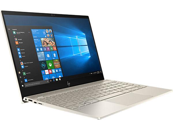 Ноутбук HP Envy 13-ah1012ur 5CV21EA i7-8565U(1.8) / 16Gb / 512Gb SSD / 13.3 4K IPS / GeForce MX150 2Gb / FPR / Win10 / Pale gold bluboo edge 2gb 16gb smartphone gold