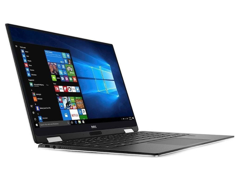 Ноутбук Dell XPS 13 (9365-5492) i7-8500Y (1.5) / 16GB / 512GB SSD / 13.3 QHD+ IPS Touch / Int: Intel HD 615 / noODD / Win10 (Silver) free shipping 13 3 for dell xps 13 9350 assembly qhd lcd screen wih touch digitizer 3200 1800
