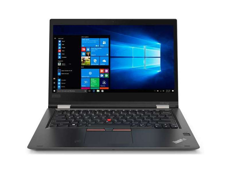 Ноутбук Lenovo ThinkPad X380 Yoga (20LH000PRT) i5-8250U (1.6) / 8GB / 256GB SSD / 13 1920x1080 IPS Touch / Int: Intel UHD 620 / noODD / Win10 Pro (Black) for lenovo zuk z2 lcd screen display with touch screen digitizer panel glass assembly black white replacement parts free shipping