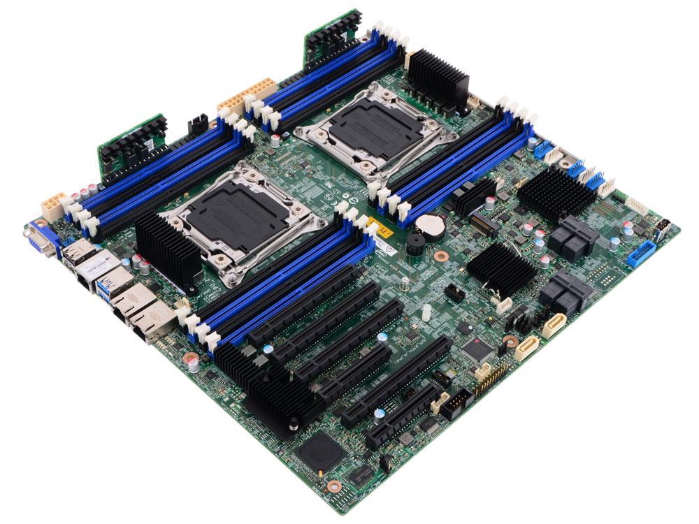 Материнская плата Intel DBS2600CW2SR Socket 2011-3 C612 16xDDR4 4xPCI-E 16x 2xPCI-E 8x 10xSATAIII EA franke pxl 612 e