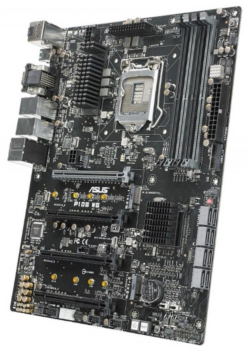 Материнская плата ASUS P10S WS Socket 1151 C236 4xDDR4 4xPCI-E 16x 8xSATAIII ATX Retail