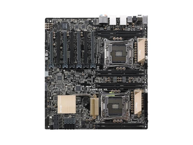 Материнская плата ASUS Z10PE-D8 WS 2xLGA-2011-3 C612 8xDDR4 7xPCI-E x16 8xSATAIII материнская плата asus x99 e ws usb 3 1 socket 2011 3 x99 8xddr4 7xpci e 16x 8xsataiii ssi ceb retail