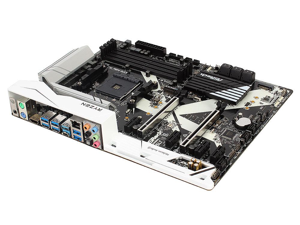 Материнская плата ASRock X370 Killer SLI (SAM4, AMD X370, 4*DDR4, 2*PCI-E16x, 4*PCI-E1x, SATAIII+RAID, M.2, GB Lan, USB3.1, ATX, Retail) fiscal end aluminum fanless embedded computer with i3 3217u 6com 4g ram onboard 2 intel lan support wake on lan dual 24bit lvds