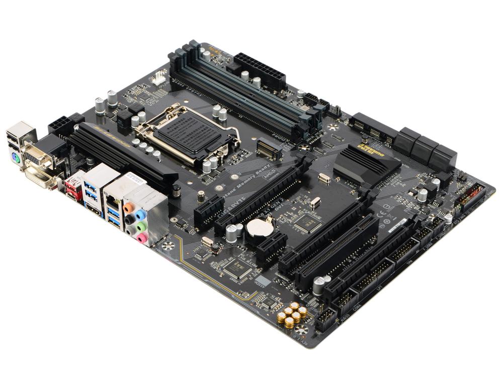 Материнская плата GIGABYTE GA-B250-HD3P (S1151, iB250, 4*DDR4, 3*PCI-E16x, 2*PCI-Ex1, D-SUB, DVI, HDMI, SATA III, M.2, USB 3.1 Gen2, GB Lan, ATX, Retail) переходник aopen hdmi dvi d позолоченные контакты aca311
