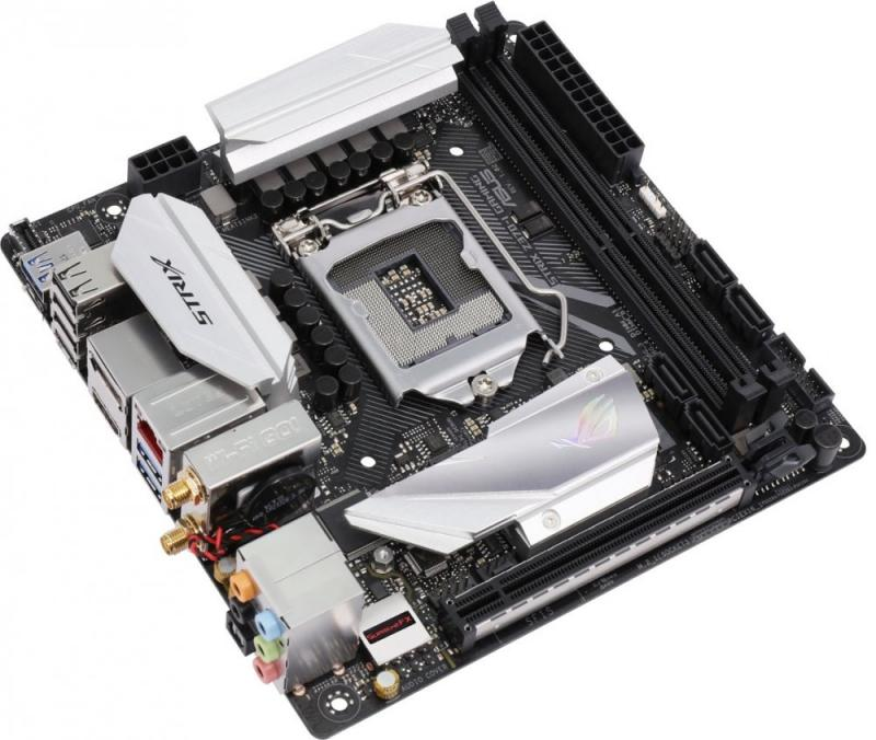 ROG STRIX Z370-I GAMING видеокарта asus rog strix rx570 o4g gaming rx 570 4гб gddr5 retail