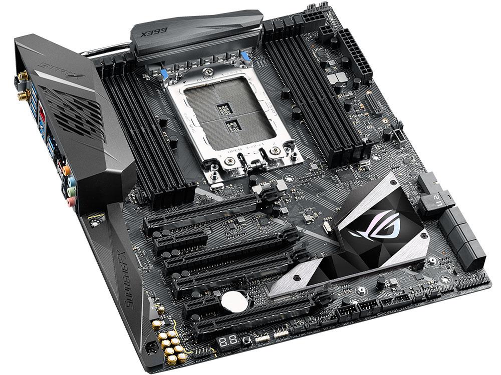 ROG STRIX X399-E GAMING видеокарта asus geforce gtx 1060 1620mhz pci e 3 0 6144mb 8208mhz 192 bit dvi hdmi hdcp rog strix gtx1060 o6g gaming