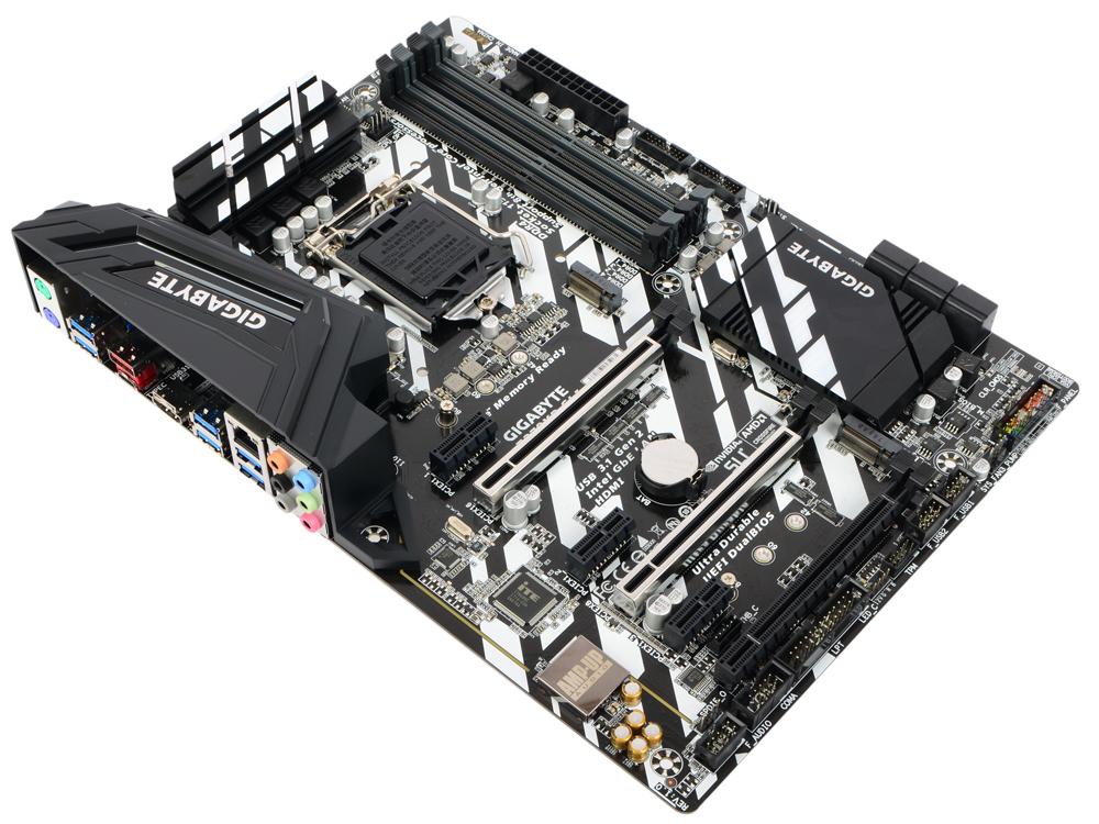 Материнская плата GIGABYTE Z370XP SLI (S1151, Z370, 4*DDR4, 3xPCI-E x16, 3xPCI-E x1, HDMI, SATA III+RAID, M.2, U.2, USB 3.1, ATX, Retail) материнская плата asrock z370 killer sli s1151 iz370 4 ddr4 2 pcie 3 0x16 4 pcie 3 0x1 sata3 hdmi dvi ps 2 usb3 1 atx retail