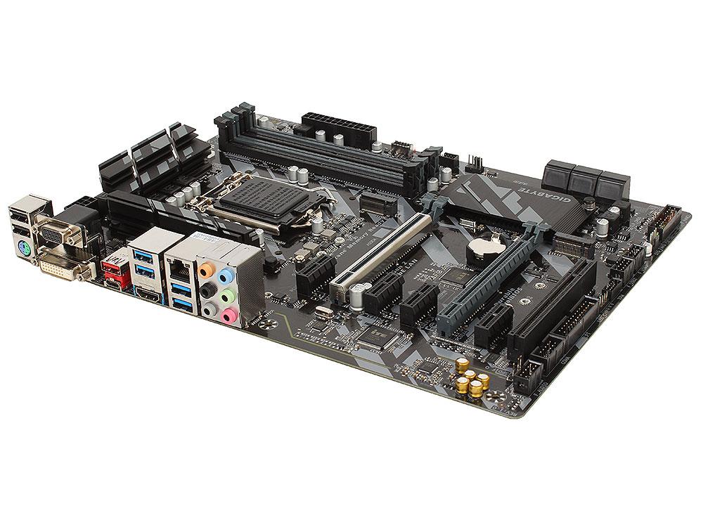 Материнская плата GIGABYTE Z370 HD3P (S1151, Z370, 4*DDR4, 2xPCI-E x16, 4xPCI-E x1, 1xPCI, HDMI, SATA III+RAID, M.2, USB 3.1, ATX, Retail) материнская плата asrock z370 killer sli s1151 iz370 4 ddr4 2 pcie 3 0x16 4 pcie 3 0x1 sata3 hdmi dvi ps 2 usb3 1 atx retail