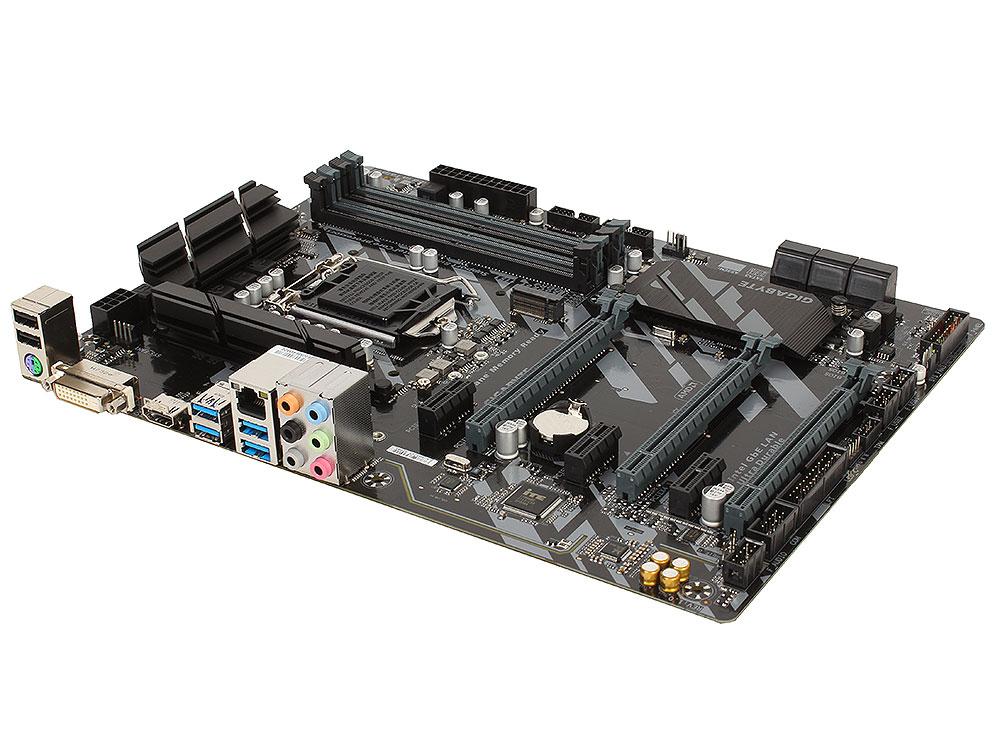 Материнская плата GIGABYTE Z370 HD3 (S1151, Z370, 4*DDR4, 3xPCI-E x16, 3xPCI-E x1, DVI, HDMI, SATA III+RAID, M.2, U.2, USB 3.1, ATX, Retail) материнская плата asrock z370 killer sli s1151 iz370 4 ddr4 2 pcie 3 0x16 4 pcie 3 0x1 sata3 hdmi dvi ps 2 usb3 1 atx retail