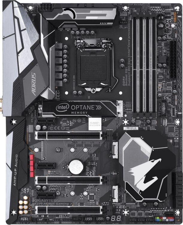 Материнская плата GIGABYTE Z370 AORUS GAMING 7-OP (S1151, Z370, 4xDDR4, 3xPCI-Ex16, 3xPCI-Ex1, DP, HDMI, SATA III+RAID, M.2, 2xGB Lan, USB3.1, ATX, Retail) цены онлайн