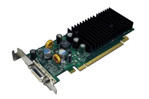 Проф видеокарта 128Mb nVidia Quadro 4 NVS 285 (HP 398685-001)