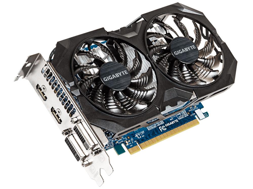 Видеокарта 4Gb <PCI-E> GIGABYTE GV-N75TWF2OC-4GI <GTX750, GDDR5, 128 bit, 2*DVI, HDMI, Retail>