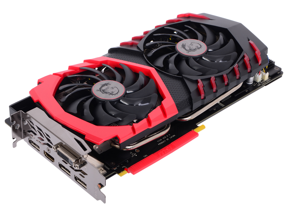 Видеокарта 8Gb MSI GTX 1070 GAMING X 8G