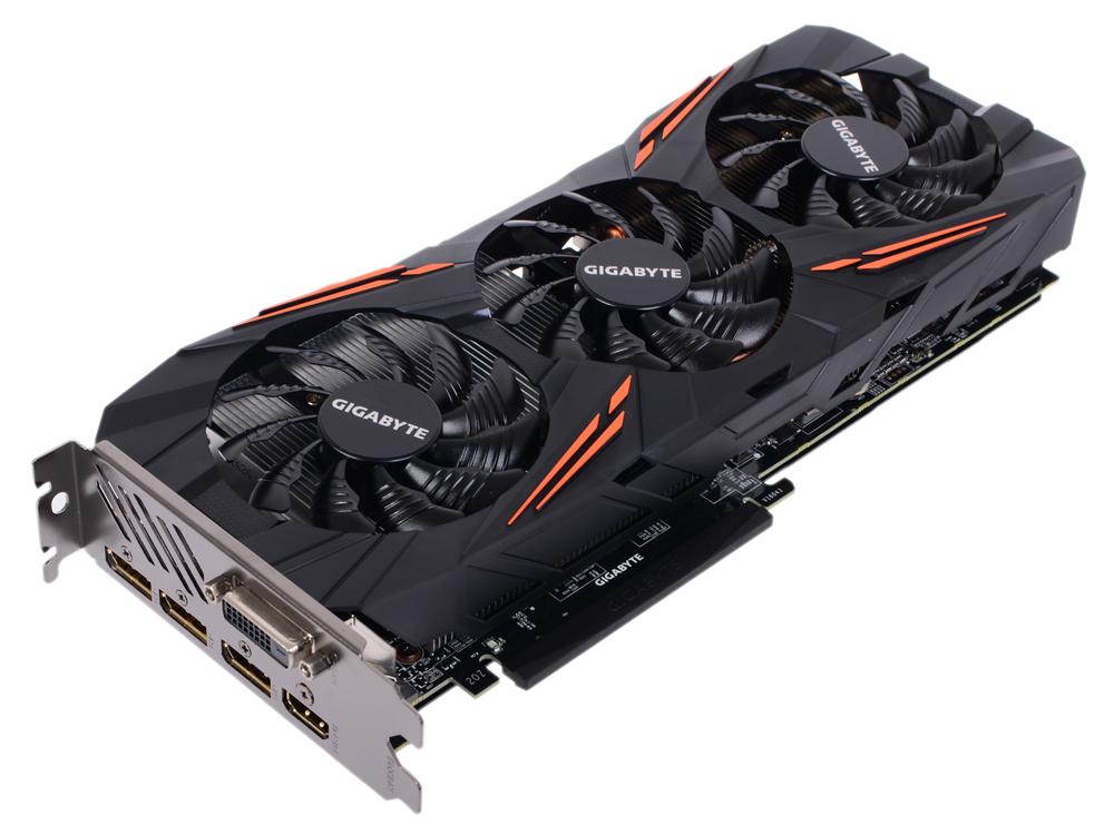 Видеокарта 8Gb (PCI-E) GIGABYTE GV-N1070G1 GAMING-8GD pci e to