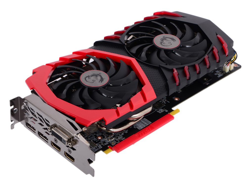 Видеокарта 8Gb MSI Radeon RX 470 GAMING X 8G