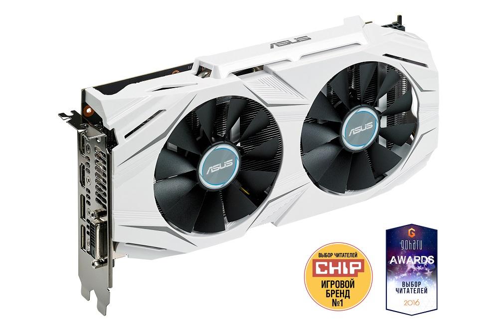 Видеокарта 8Gb (PCI-E) ASUS DUAL-GTX1070-O8G (GTX1070, GDDR5, 256bit, HDCP, DVI-D, HDMI, 2*DP, Retail) красочные colorful igame gtx1070 vulcan x oc gtx1070 1620 1822mhz 8008mhz 8g 256bit gddr5 видеокарта игра