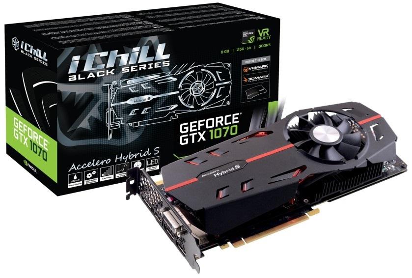 Видеокарта 8Gb Inno3D GeForce GTX 1070 iChill Black C107B-1SDN-P5DNX