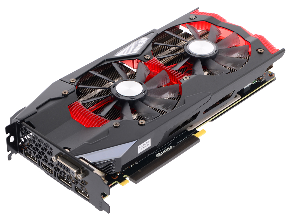 Видеокарта 8Gb Inno3D GeForce GTX 1080 GAMING OC N1080-1SDN-P6DNX