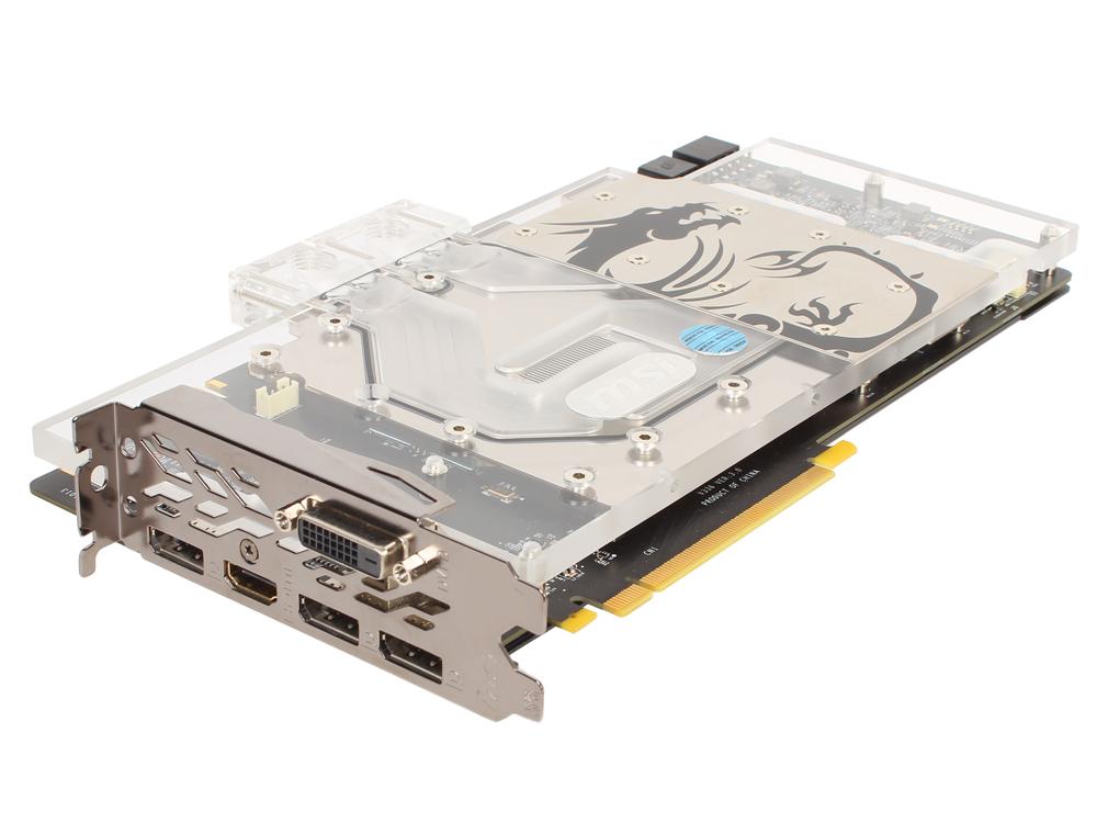 Видеокарта 8Gb MSI GeForce GTX 1080 SEA HAWK EK X