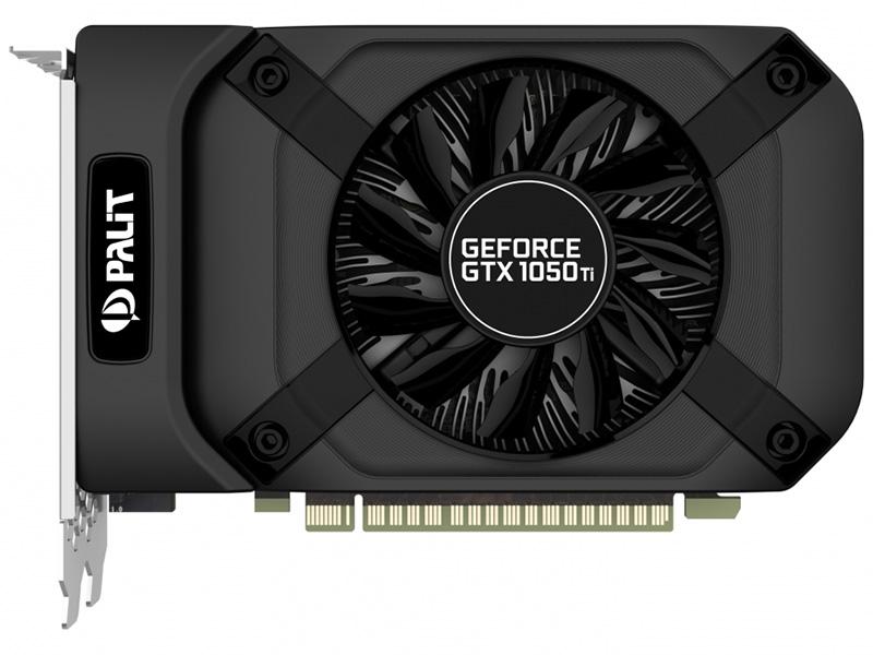 все цены на Видеокарта Pallit GeForce GTX 1050 Ti StormX PA-GTX 1050 Ti StormX 4G 1290Mhz NVIDIA GTX1050 Ti/GDDR5/7000Mhz/128 bit/PCI-E/DVI,DP,HDMI онлайн