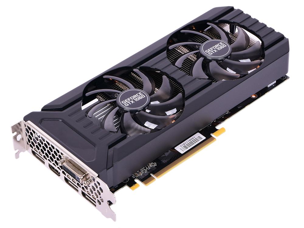 цена на Видеокарта Palit GeForce GTX 1060 Dual PA-GTX1060 Dual 3G 1506Mhz NVIDIA GTX1060/GDDR5/8000Mhz/192 bit/PCI-E/DVI,DP,HDMI