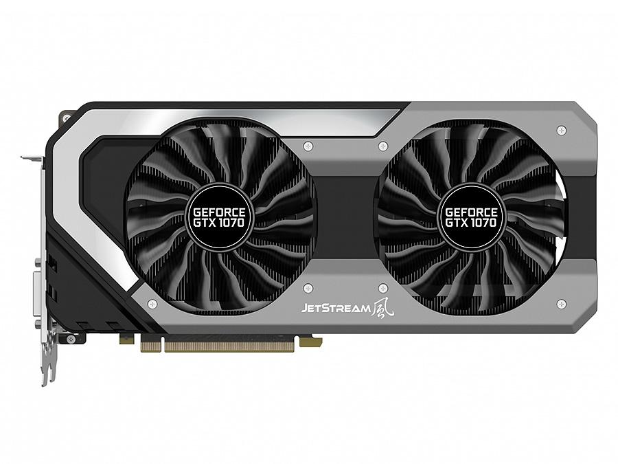 Видеокарта 8192Mb Palit GeForce GTX 1070 Super Jetstream PCI-E 256bit GDDR5 DVI HDMI DP PA-GTX1070 Su