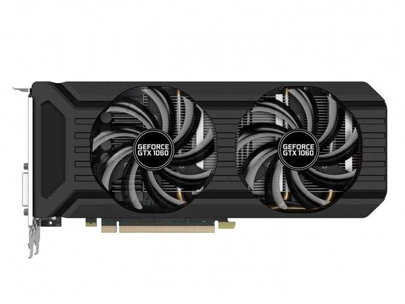 все цены на Видеокарта Palit GeForce GTX 1060 Dual PA-GTX1060 Dual 6G 1506Mhz NVIDIA GTX1060/GDDR5/8000Mhz/192 bit/PCI-E/DVI,DP,HDMI онлайн
