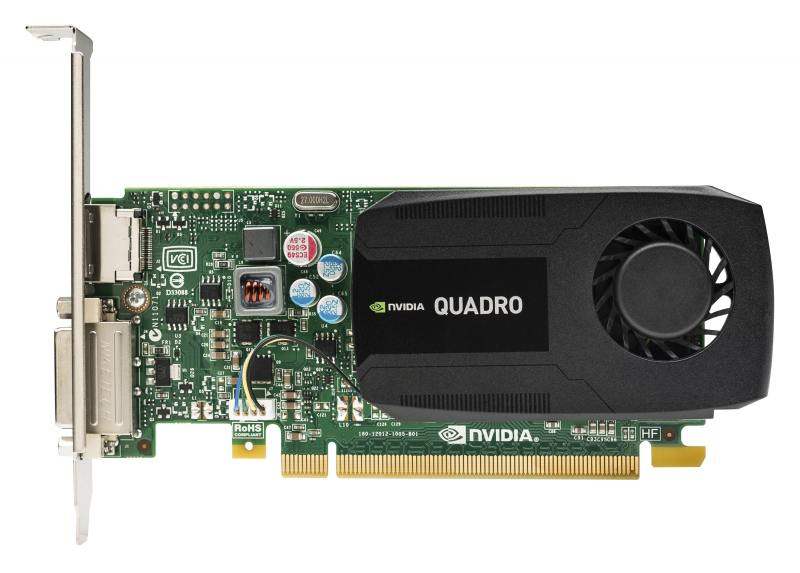 Видеокарта 2048Mb HP Quadro K420 PCI-E GDDR3 DP DVI N1T07AA