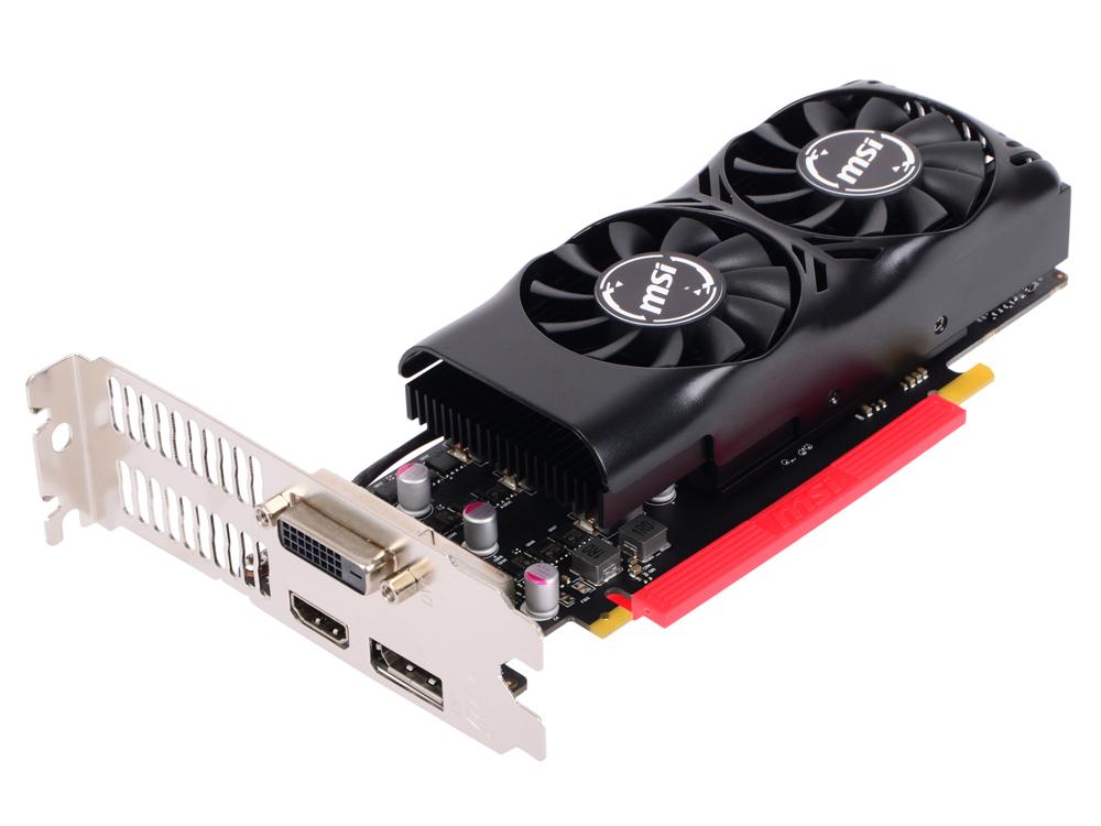 Видеокарта 4Gb MSI GeForce GTX 1050 Ti 4GT LP
