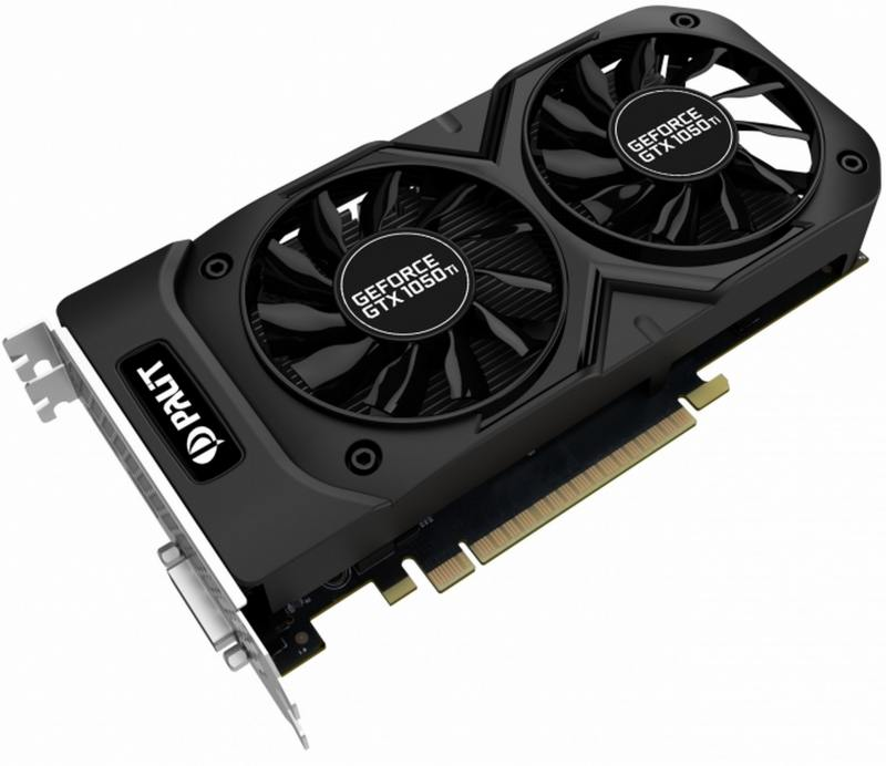 Видеокарта 4096Mb Palit GeForce GTX1050 Ti Dual OC PCI-E 128bit GDDR5 DVI HDMI DP NE5105TS18G1-1071D видеокарта 2048mb palit geforce gtx750 pci e stormx oc 128bit ddr5 dvi hdmi crt hdcp ne5x750thd41 2065f oem