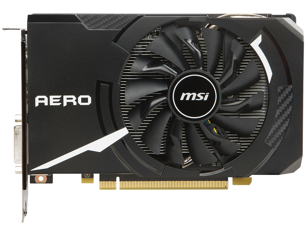 Видеокарта 3Gb MSI GeForce GTX 1060 AERO ITX 3G OC