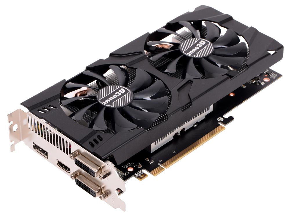 Видеокарта Inno3D GeForce GTX 1060 Twin X2 N106F-5SDN-N5GS 6Gb 1506Mhz NVIDIA GTX1060/GDDR5/8000MHz/192 bit/PCI-E/DVI DP HDMI видеокарта inno3d geforce gtx 1050 2048mb twin x2 n1050 1ddv e5cm dvi d hdmi dp ret