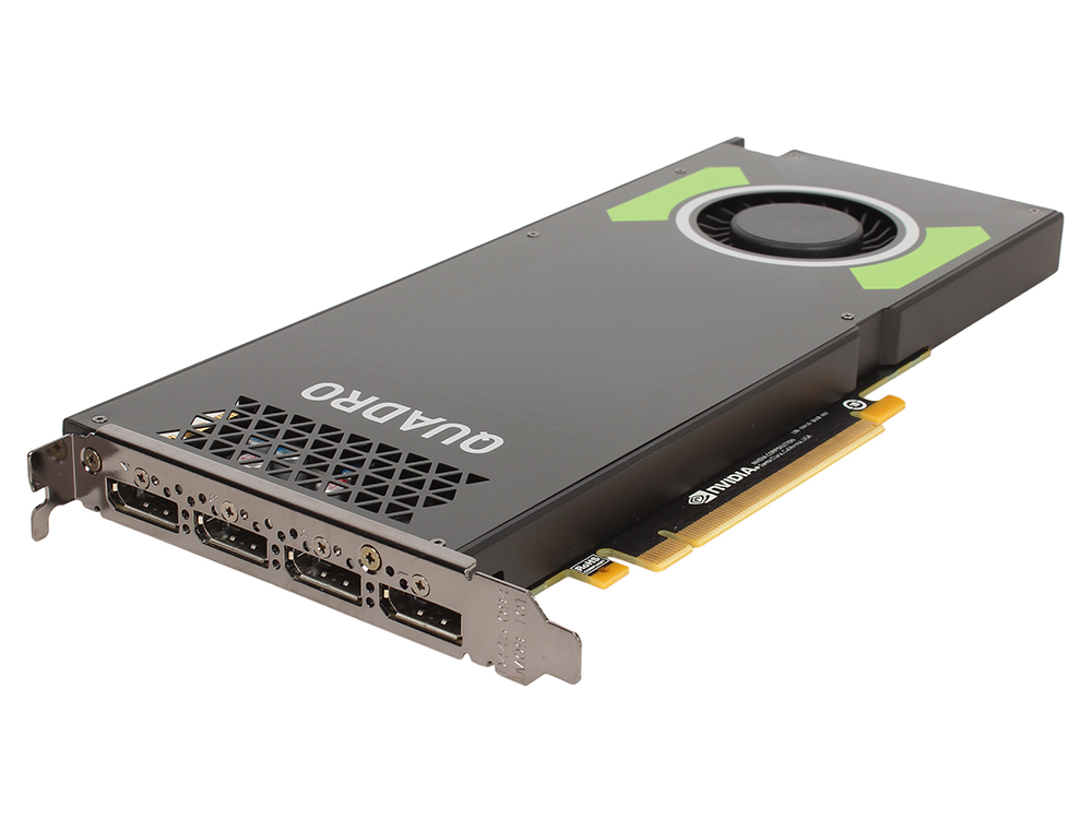 Проф видеокарта PNY nVidia Quadro P4000 VCQP4000BLK-1 8Gb 1202Mhz NVIDIA Quadro P4000/GDDR5/MHz/256 bit/PCI-E/DP pci e to