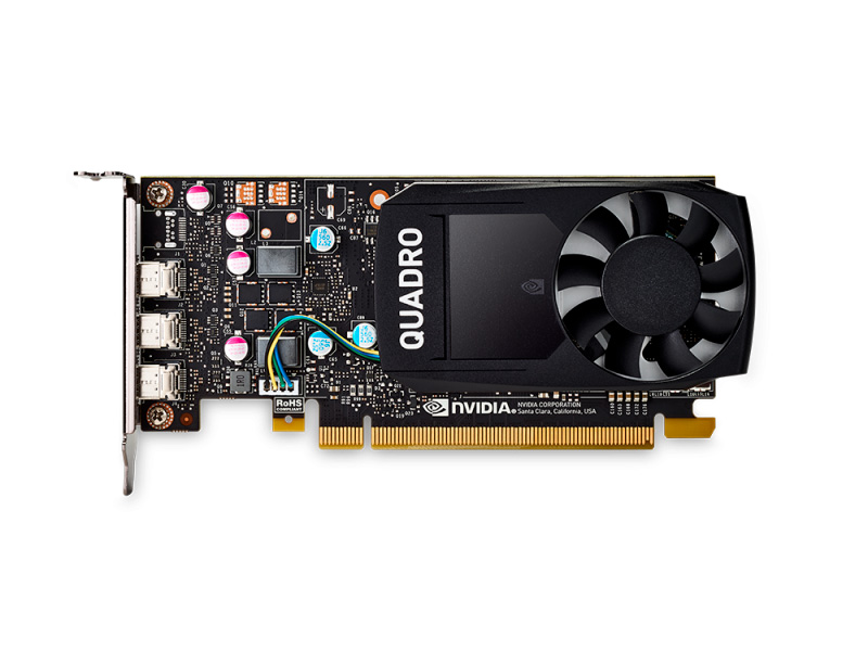 Проф видеокарта 2Gb PNY nVidia Quadro P400
