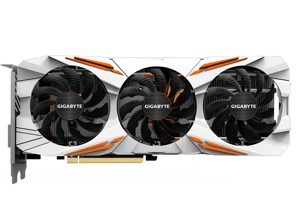Видеокарта 11Gb GIGABYTE GeForce GTX 1080 Ti GV-N108TGAMING OC-11GD