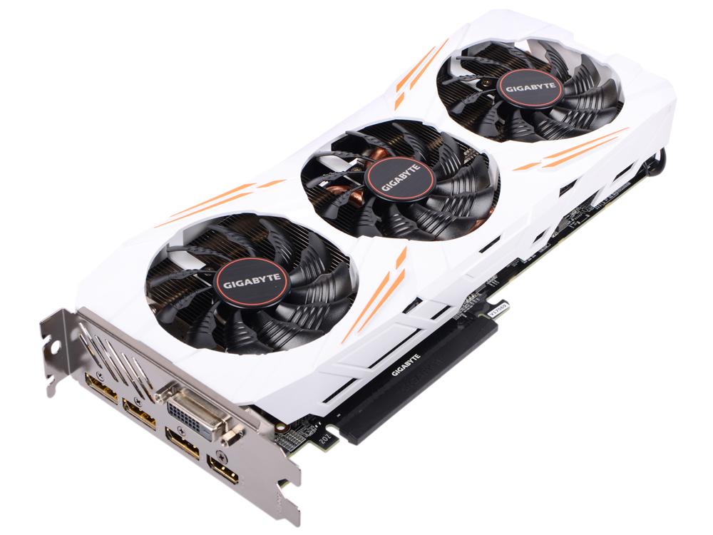 Видеокарта 11Gb <PCI-E> GIGABYTE GeForce GTX 1080 Ti Gaming 11G GV-N108TGAMING-11GD <GTX1080Ti, GDDR5X, 352bit, PCI-Ex16, HDCP, DVI, DP, HDMI, Retail> цена