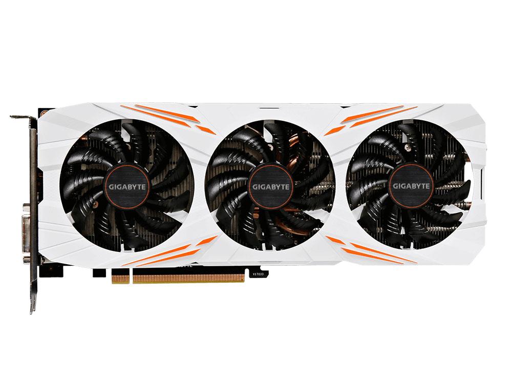 Видеокарта 11Gb  GIGABYTE GeForce GTX 1080 Ti Gaming 11G GV-N108TGAMING-11GD видеокарта gigabyte geforce® gtx 1080 ti gv n108taorus 11gd 11гб gddr5x retail