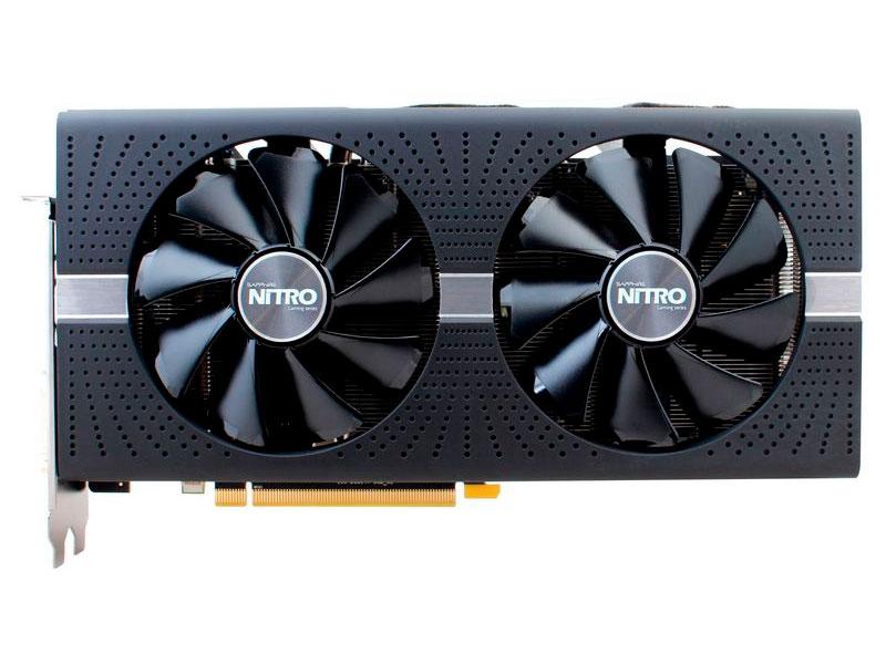 Видеокарта 4Gb (PCI-E) Sapphire RX 580 Nitro+ DVI HDMI DP Retail (11265-07-20G) видеокарта sapphire radeon rx 460 nitro oc 1175mhz pci e 3 0 4096mb gddr5 128bit dvi dp hdmi hdcp 11257 02 20g