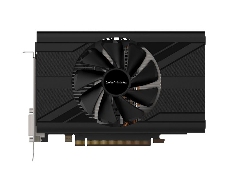 Видеокарта Sapphire RX 570 Mini Pulse (11266-06-20G) 4Gb 1244Mhz AMD RX 570/GDDR5/7000MHz/256 bit/PCI-E/ DVI DP HDMI видеокарта asus radeon rx 570 1244mhz pci e 3 0 4096mb 7000mhz 256 bit dp dvi hdmi hdcp ex rx570 4g