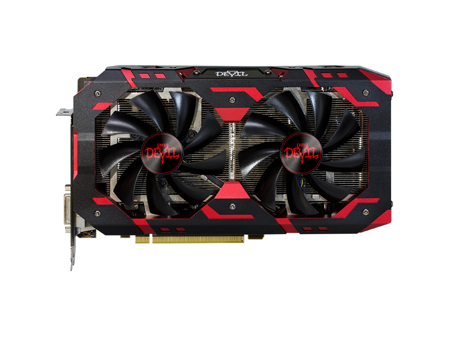 Видеокарта 8Gb PowerColor AXRX 580 Red Devil Golden Sample  DVI HDMI HDCP Retail (8GBD5-3DHG/OC) видеокарта powercolor 4096mb rx 570 red dragon axrx 570 4gbd5 3dhd oc 3xdp hdmi dvi ret