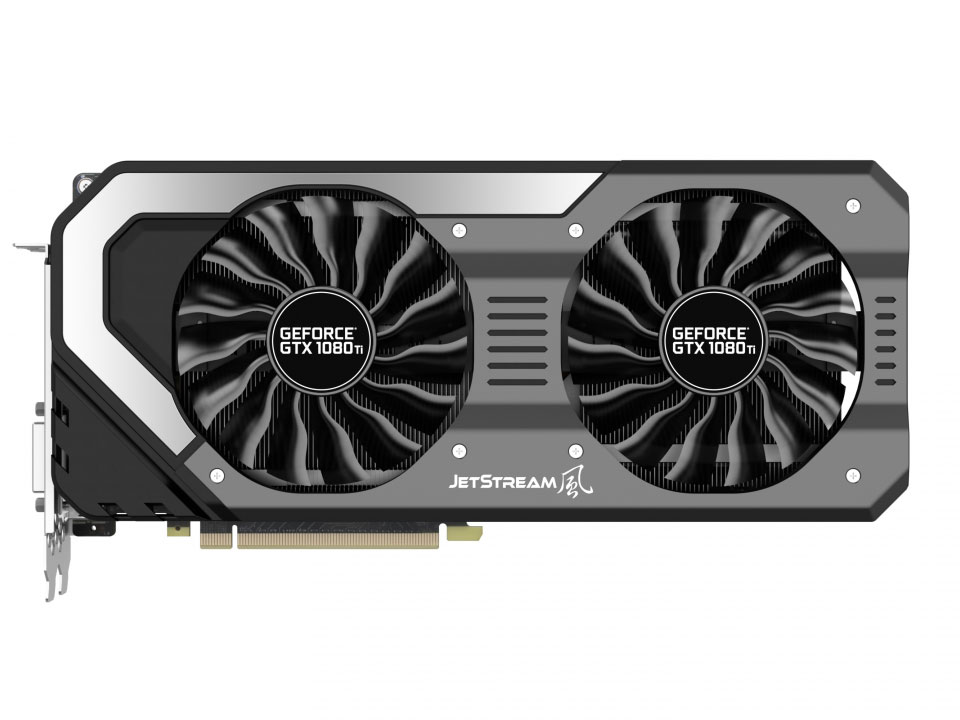 Видеокарта Palit GeForce GTX1080 Ti Super Jetstream 11G 11264Mb 1531Mhz NVIDIA GTX1080 Ti/GDDR5X/11000Mhz/352 bit/PCI-E/DVI,DP,HDMI видеокарта palit geforce gtx1050 ti dual 4g ne5105t018g1 4096mb 1290mhz nvidia gtx1050 ti gddr5 7000mhz 128 bit pci e dvi dp hdmi