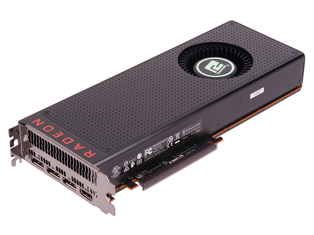 Видеокарта 8Gb (PCI-E) PowerColor RX VEGA 64 8GB HBM2-LIMITED (AXRX VEGA 64 8GBHBM2-3DHE) (RX VEGA, HBM2, 2048 bit, HDCP, HDMI, DP*3, Retail) видеокарта 1024mb powercolor r7 250 pci