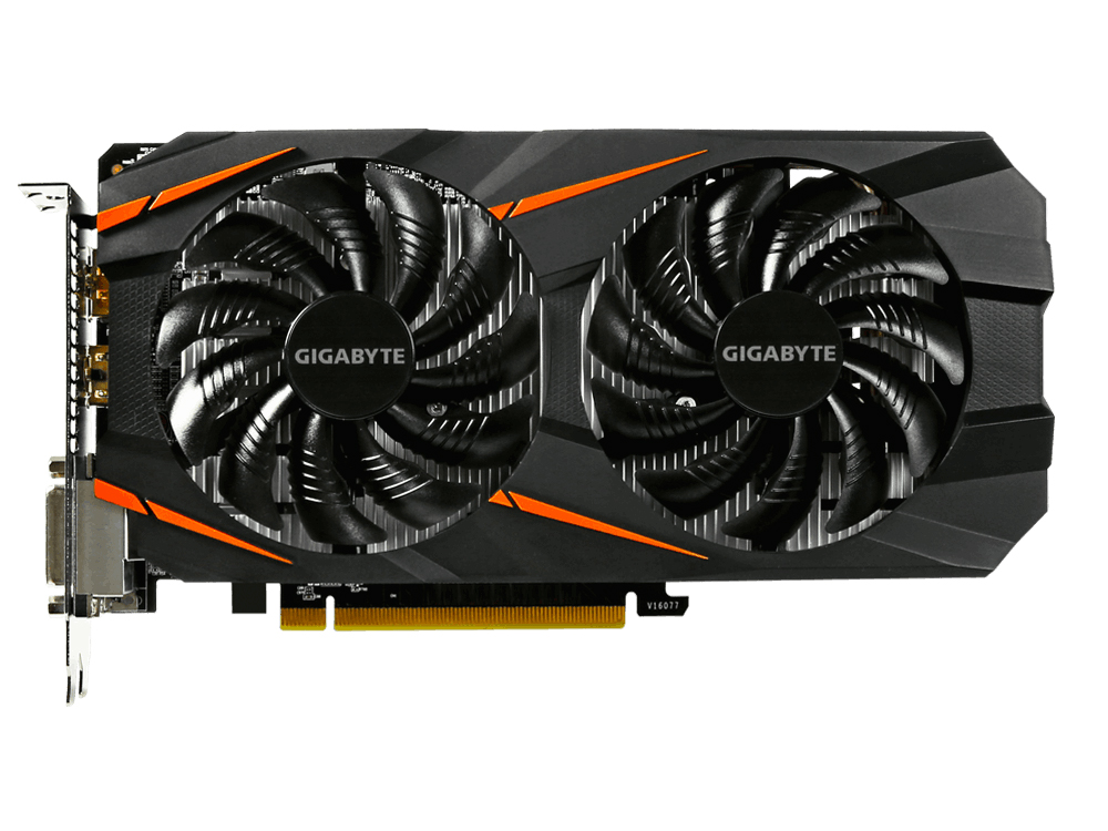Видеокарта 3Gb  GIGABYTE GeForce GTX 1060 WINDFORCE 3G GV-N1060WF2-3GD