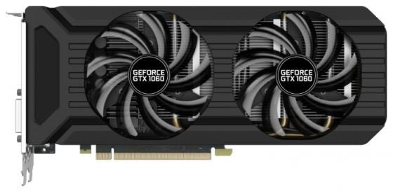 Видеокарта Palit GeForce GTX1060 Dual NE51060015F9-10 3072Mb 1506Mhz NVIDIA GTX1060/GDDR5/8000MHz/192 bit/PCI-E/ DVI DP HDMI видеокарта asus nvidia geforce gtx 1060 1506mhz pci e3 0 3072mb 8008 mhz 192bit ph gtx1060 3g
