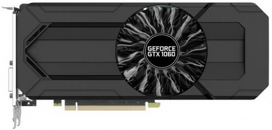 Видеокарта Palit GeForce GTX1060 Stormx NE51060015F9-1061F 3GB 1506 MHz NVIDIA GTX1060/GDDR5 8000MHz/192bit/PCI-E/DVI, HDMI, 3xDP видеокарта msi geforce gtx 1060 1594mhz pci e 3 0 6144mb 8100mhz 192 bit dvi hdmi hdcp gtx 1060 gaming x 6g
