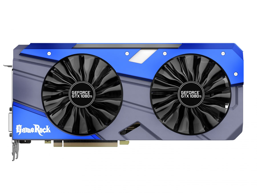 все цены на Видеокарта Palit GeForce GTX1080 Ti GameRock 11G NEB108TT15L 11264Mb 1505Mhz NVIDIA GTX1080 Ti/GDDR5X/11000MHz/352 bit/PCI-E/DVI DP HDMI