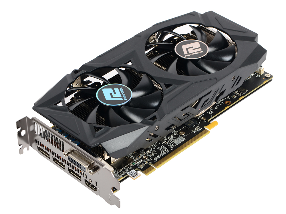 Видеокарта PowerColor Red Dragon Radeon RX 580 (AXRX 580 8GBD5-3DHDV2/OC) 8Gb AMD RX 580/GDDR5/8000MHz/256 bit/PCI-E/ DVI DP HDMI
